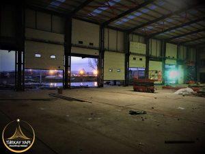 Endüstriyel Seksiyonel Kapı
