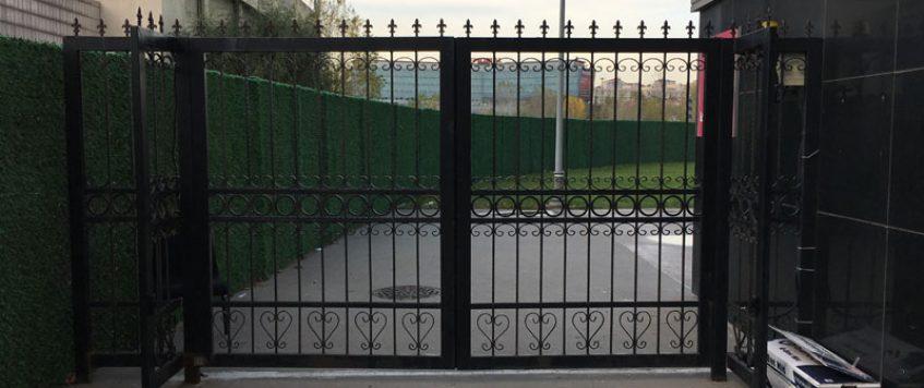 Dairesel Bahçe Kapısı