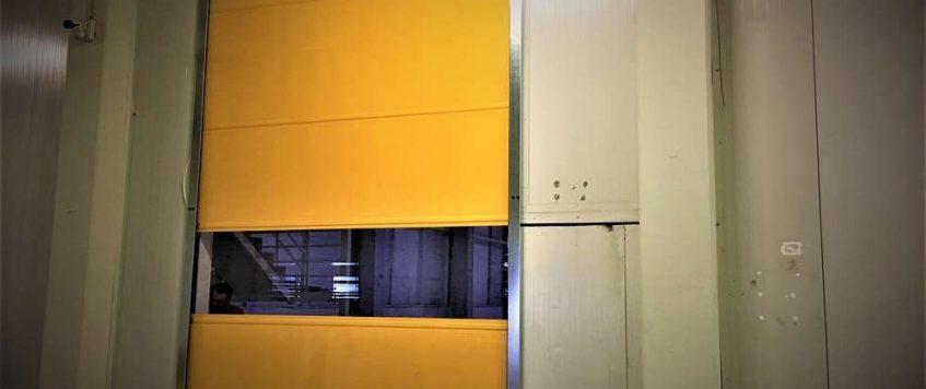 Hızlı PVC Sarmal Kapı