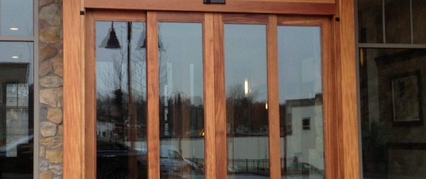Radarlı Cam Kapı