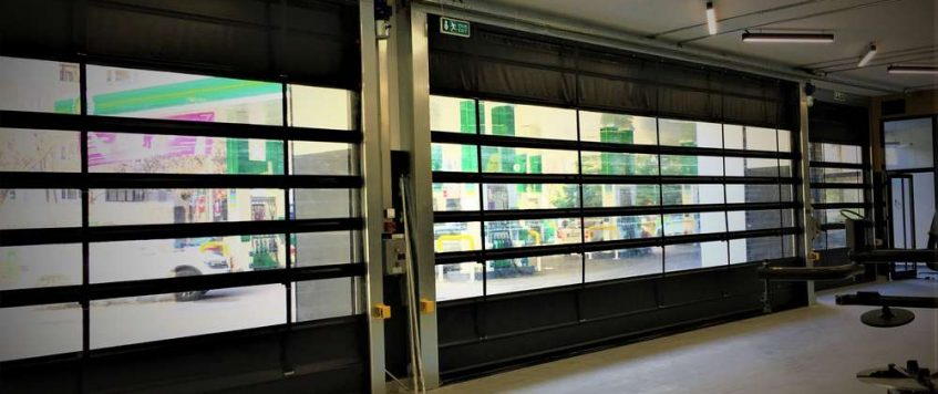 PVC Katlanır Kapı